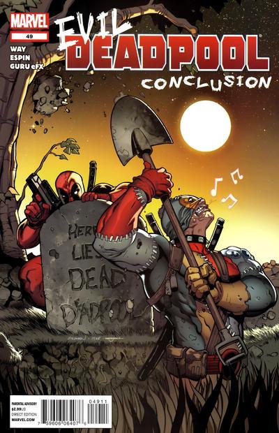 Cover for Deadpool (Marvel, 2008 series) #49