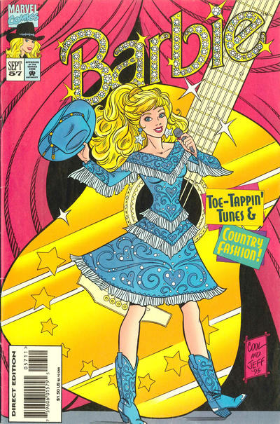 Cover for Barbie (Marvel, 1991 series) #57