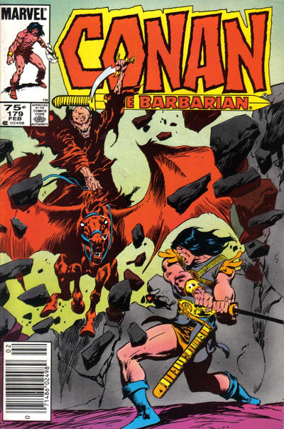 Cover for Conan the Barbarian (Marvel, 1970 series) #179 [Direct Edition]