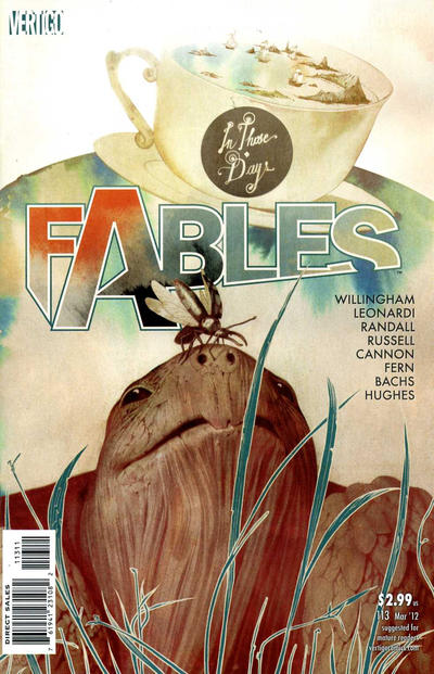 Cover for Fables (DC, 2002 series) #113