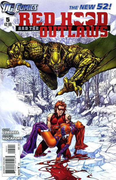Cover for Red Hood and the Outlaws (DC, 2011 series) #5