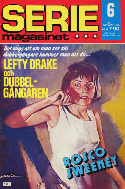 Cover for Seriemagasinet (Semic, 1970 series) #6/1986