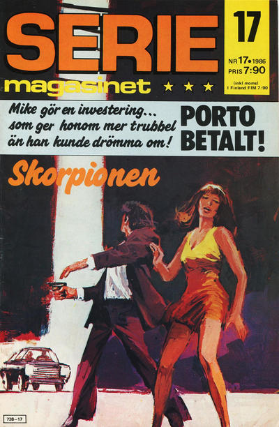 Cover for Seriemagasinet (Semic, 1970 series) #17/1986