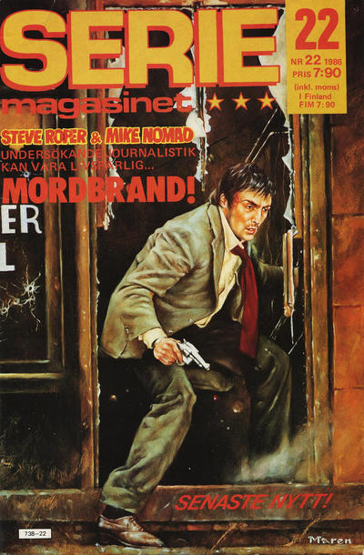 Cover for Seriemagasinet (Semic, 1970 series) #22/1986