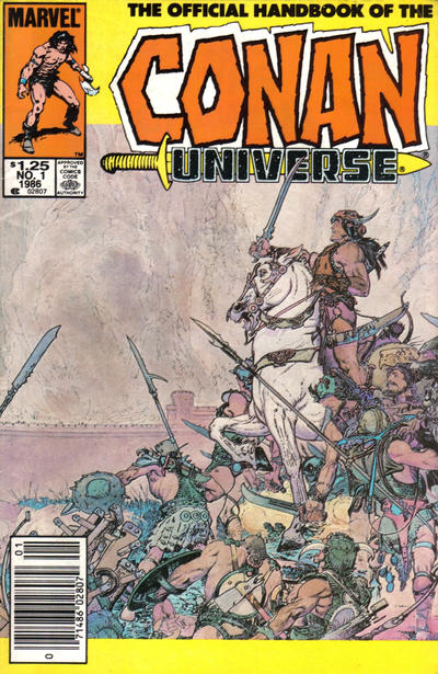 Cover for The Handbook of the Conan Universe (Marvel, 1986 series) #1