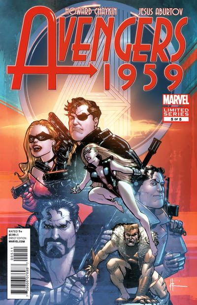 Cover for Avengers 1959 (Marvel, 2011 series) #5