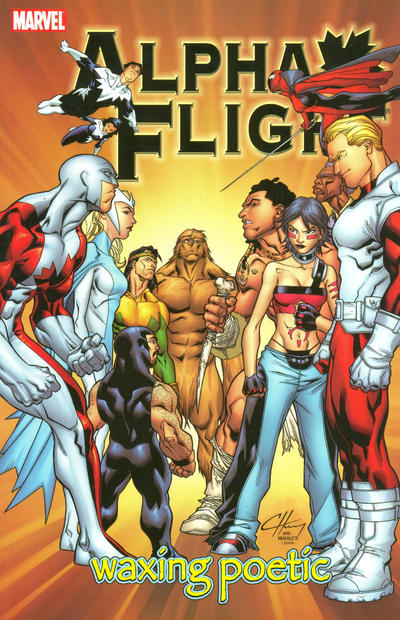 Cover for Alpha Flight (Marvel, 2004 series) #2 - Waxing Poetic