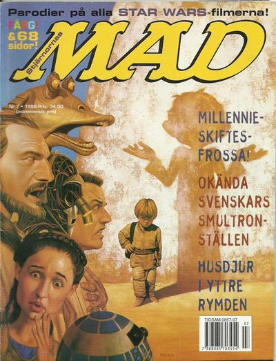 Cover for Svenska Mad (Atlantic Förlags AB, 1997 series) #7/1999