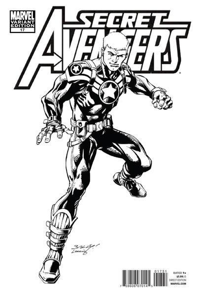 Cover for Secret Avengers (Marvel, 2010 series) #17 [Architect Sketch Variant]