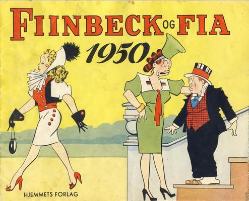 Cover for Fiinbeck og Fia (Hjemmet / Egmont, 1930 series) #1950