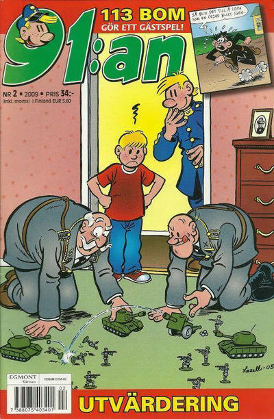 Cover for 91:an (Egmont, 1997 series) #2/2009