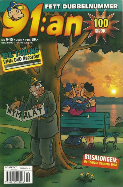 Cover for 91:an (Egmont, 1997 series) #9-10/2007