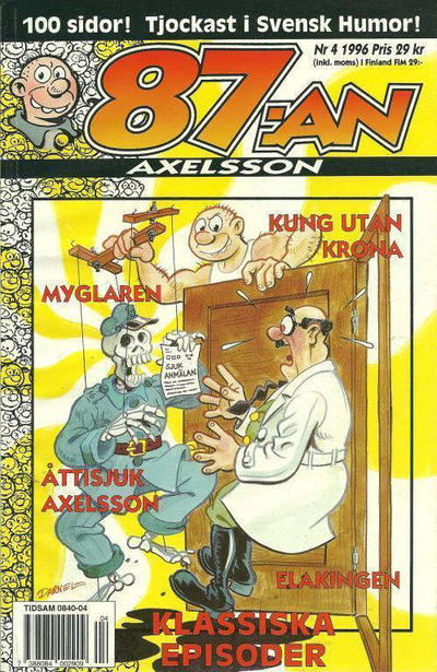 Cover for 87:an Axelsson (Semic, 1994 series) #4/1996