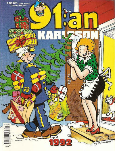 Cover for 91:an Karlsson [julalbum] (Semic, 1981 series) #1992