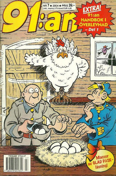 Cover for 91:an (Egmont, 1997 series) #7/2004