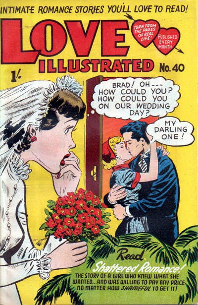 Cover for Love Illustrated (Magazine Management, 1952 series) #40