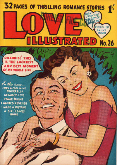 Cover for Love Illustrated (Magazine Management, 1952 series) #26