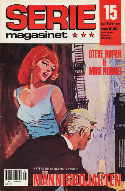 Cover for Seriemagasinet (Semic, 1970 series) #15/1987