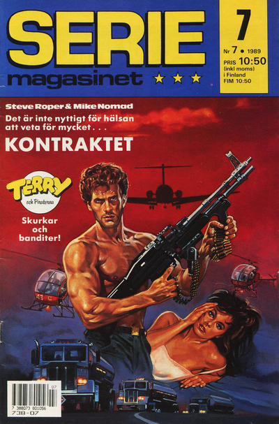 Cover for Seriemagasinet (Semic, 1970 series) #7/1989