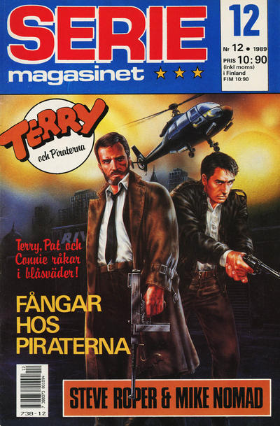 Cover for Seriemagasinet (Semic, 1970 series) #12/1989