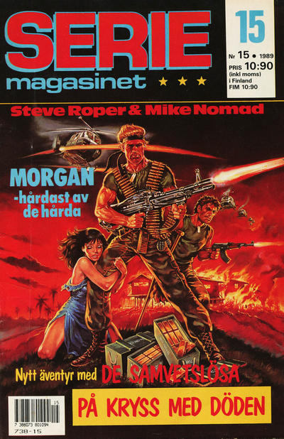 Cover for Seriemagasinet (Semic, 1970 series) #15/1989