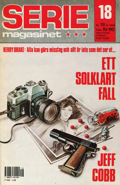 Cover for Seriemagasinet (Semic, 1970 series) #18/1989