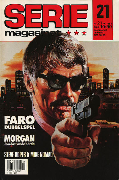 Cover for Seriemagasinet (Semic, 1970 series) #21/1989