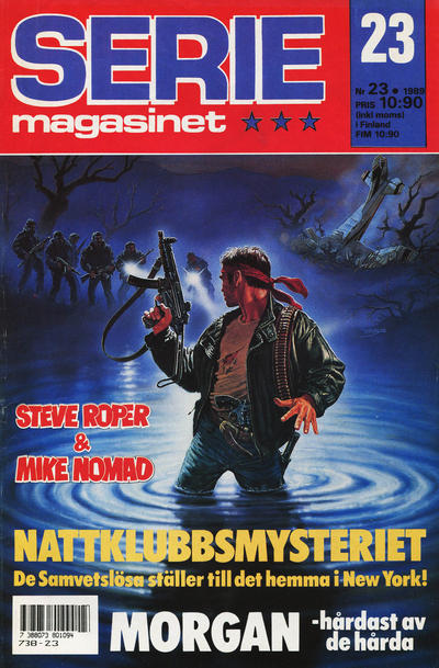 Cover for Seriemagasinet (Semic, 1970 series) #23/1989