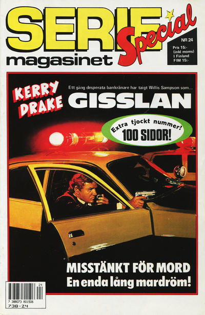 Cover for Seriemagasinet (Semic, 1970 series) #24/1989