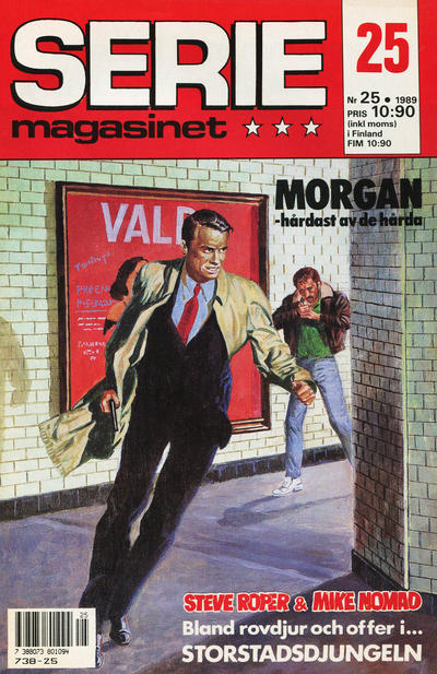 Cover for Seriemagasinet (Semic, 1970 series) #25/1989
