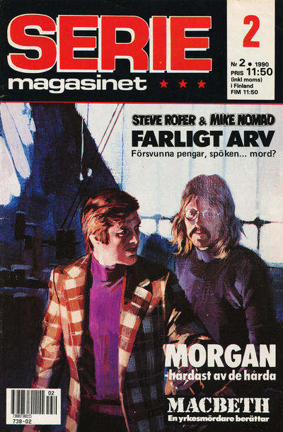 Cover for Seriemagasinet (Semic, 1970 series) #2/1990