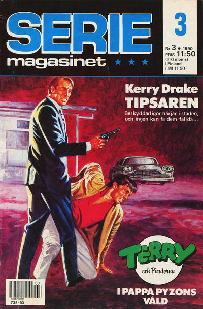 Cover for Seriemagasinet (Semic, 1970 series) #3/1990