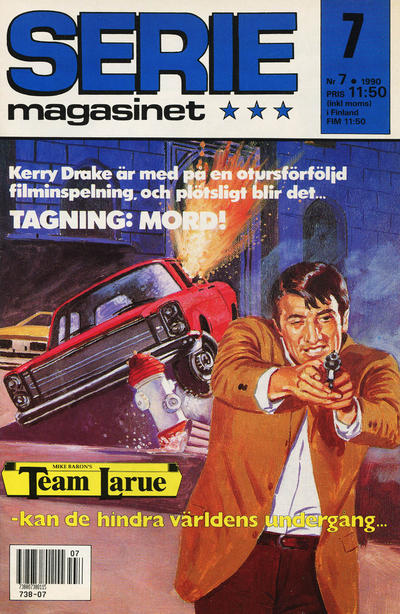 Cover for Seriemagasinet (Semic, 1970 series) #7/1990