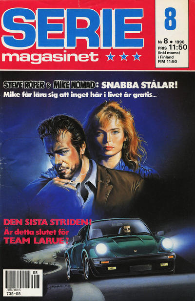 Cover for Seriemagasinet (Semic, 1970 series) #8/1990