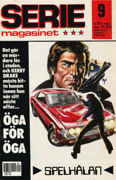 Cover for Seriemagasinet (Semic, 1970 series) #9/1990