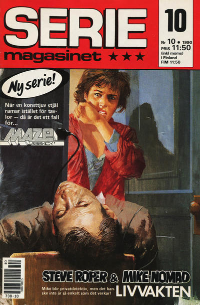 Cover for Seriemagasinet (Semic, 1970 series) #10/1990