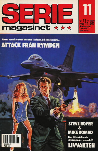 Cover for Seriemagasinet (Semic, 1970 series) #11/1990