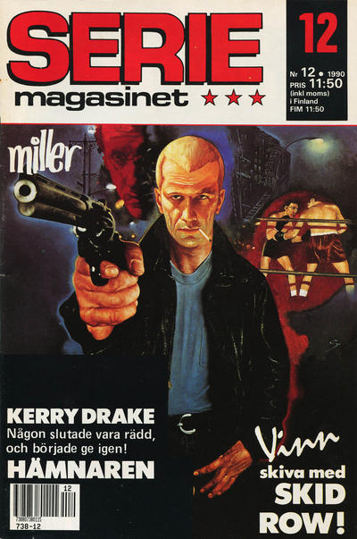 Cover for Seriemagasinet (Semic, 1970 series) #12/1990