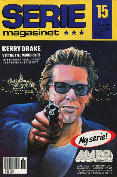 Cover for Seriemagasinet (Semic, 1970 series) #15/1990