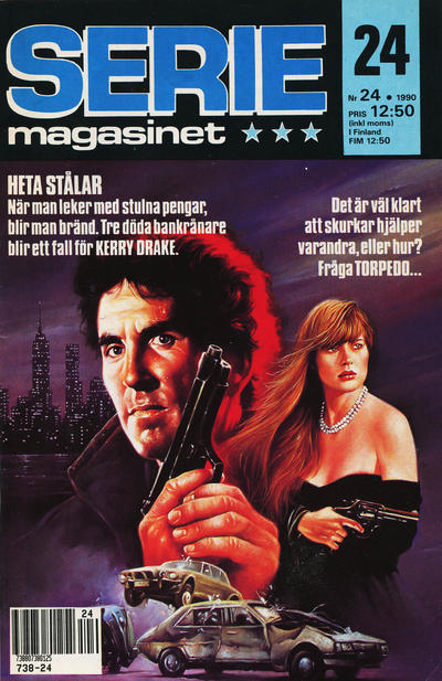 Cover for Seriemagasinet (Semic, 1970 series) #24/1990