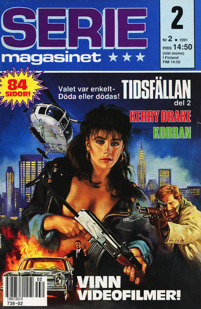 Cover for Seriemagasinet (Semic, 1970 series) #2/1991