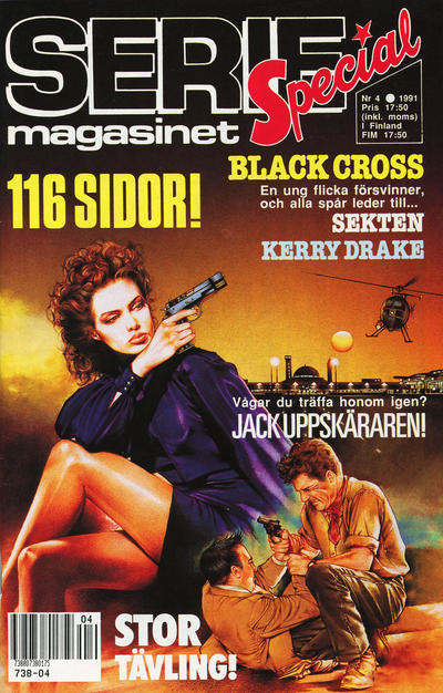 Cover for Seriemagasinet (Semic, 1970 series) #4/1991