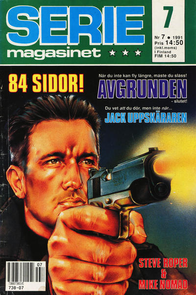 Cover for Seriemagasinet (Semic, 1970 series) #7/1991