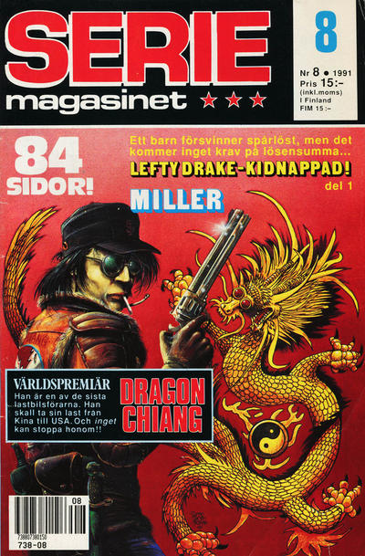 Cover for Seriemagasinet (Semic, 1970 series) #8/1991