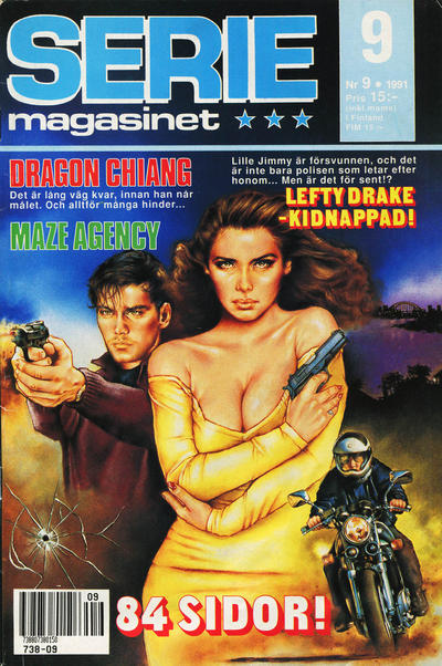 Cover for Seriemagasinet (Semic, 1970 series) #9/1991