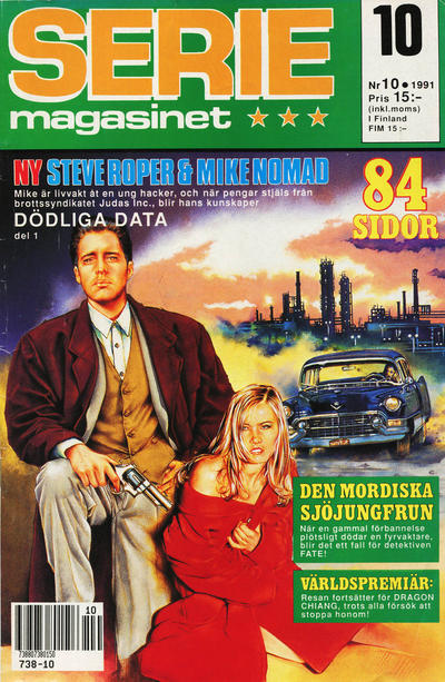 Cover for Seriemagasinet (Semic, 1970 series) #10/1991