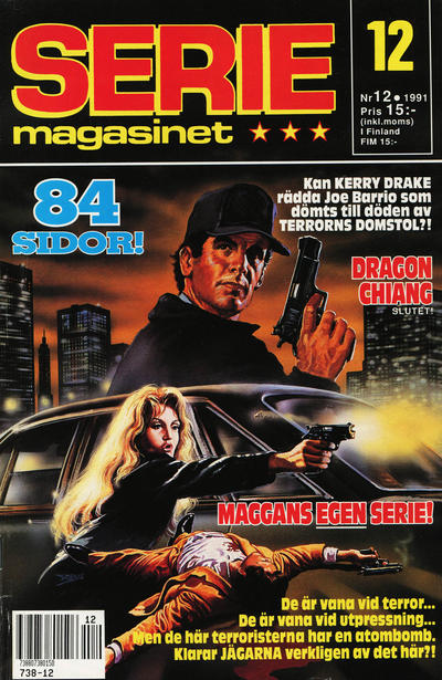 Cover for Seriemagasinet (Semic, 1970 series) #12/1991