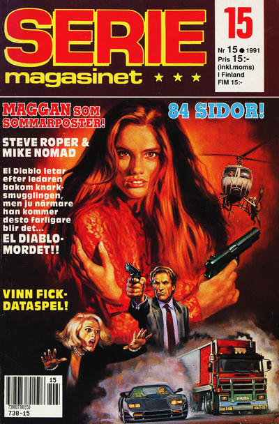 Cover for Seriemagasinet (Semic, 1970 series) #15/1991