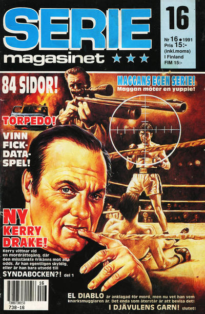 Cover for Seriemagasinet (Semic, 1970 series) #16/1991