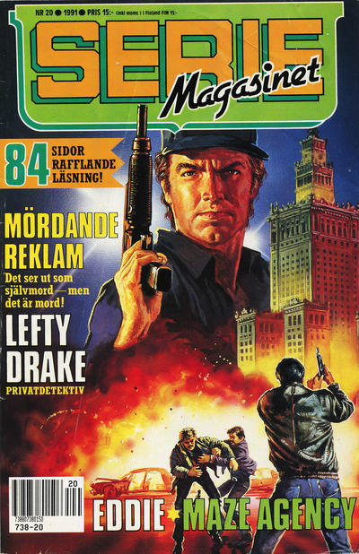 Cover for Seriemagasinet (Semic, 1970 series) #20/1991